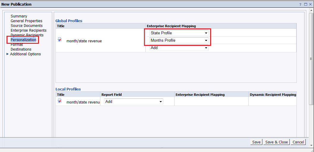 Step by Step guide on how to Burst Reports in Business Objects ...