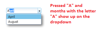 DS dropdown