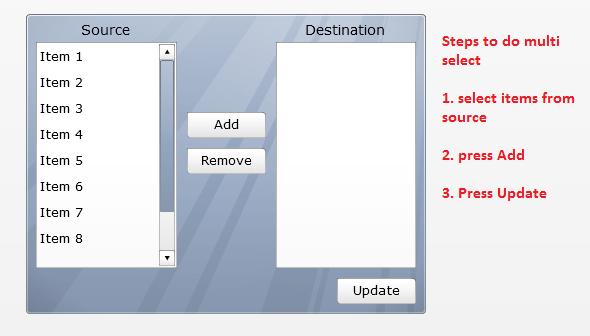 listbuilder component