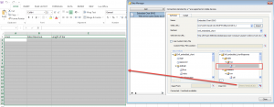 Xcelsius data manager