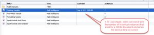 bi launchpad schedule info